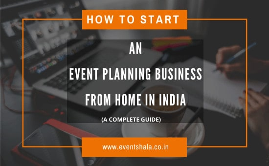 start an event planning business in india